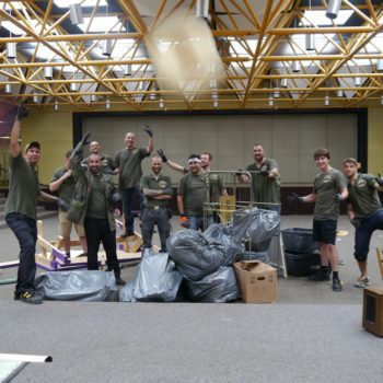 Rümpel-Stars Team bei einer Entrümpelung